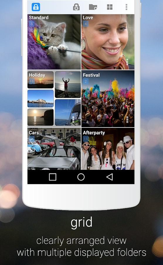Hide pictures with LockMyPix- screenshot