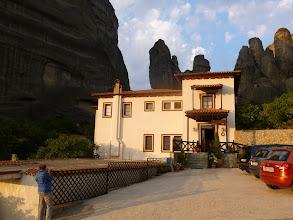 Photo: Notre hôtel le Pyrgos Adrachti à  Kastraki, un propriétaire super sympas.