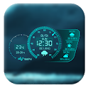 Weather updates app ❄☔️ icon