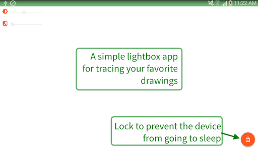 Tracer!  Lightbox tracing app 1.1.9 screenshots 3