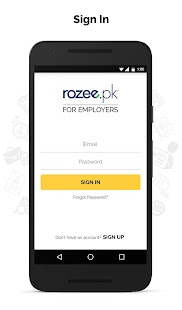 ROZEE.PK - Employer App- screenshot thumbnail