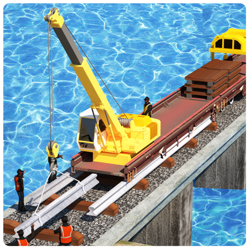 Train Track Constructor 2 : River Railway Games 3d
