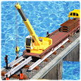 Train Track Constructor 2 : River Railway Games 3d icon