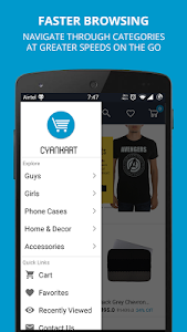 Cyankart: Online Fashion Store screenshot 1
