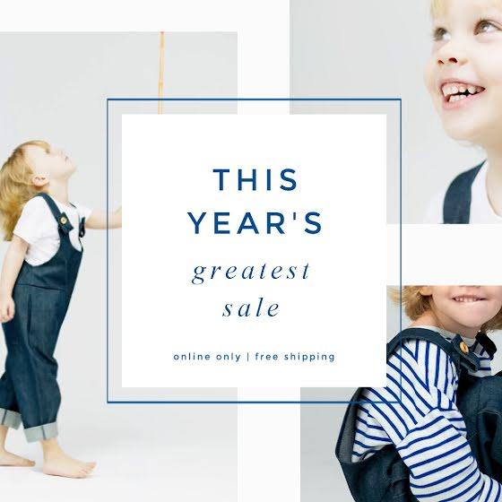 Children's Sale 02 - Instagram Post Template