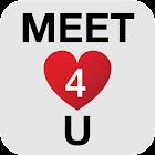 Meet4U - бесплатные знакомства icon