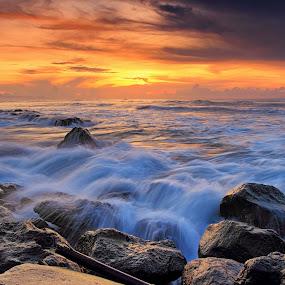 Manyar Beach Bali by Calvin Go - Landscapes Beaches