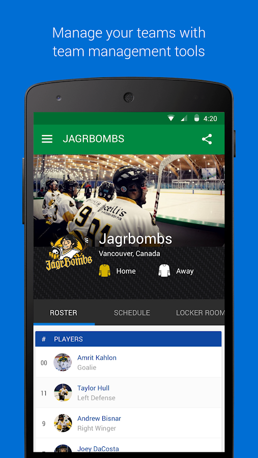 Hockey Community- screenshot