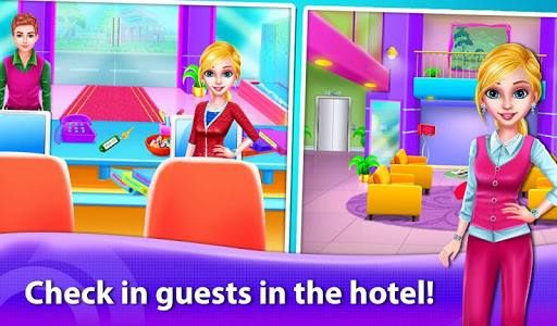 Girl Hotel Hostess Resort Paradise for PC