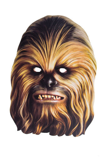 Pappmask, Chewbacca