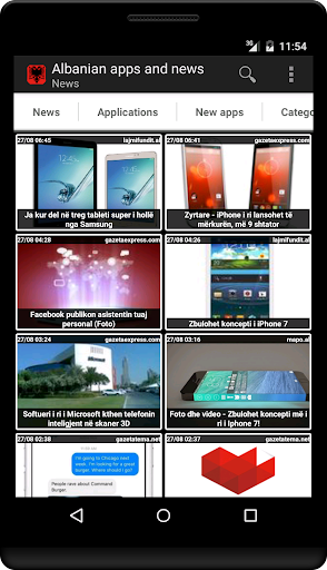 Albanian apps and tech news