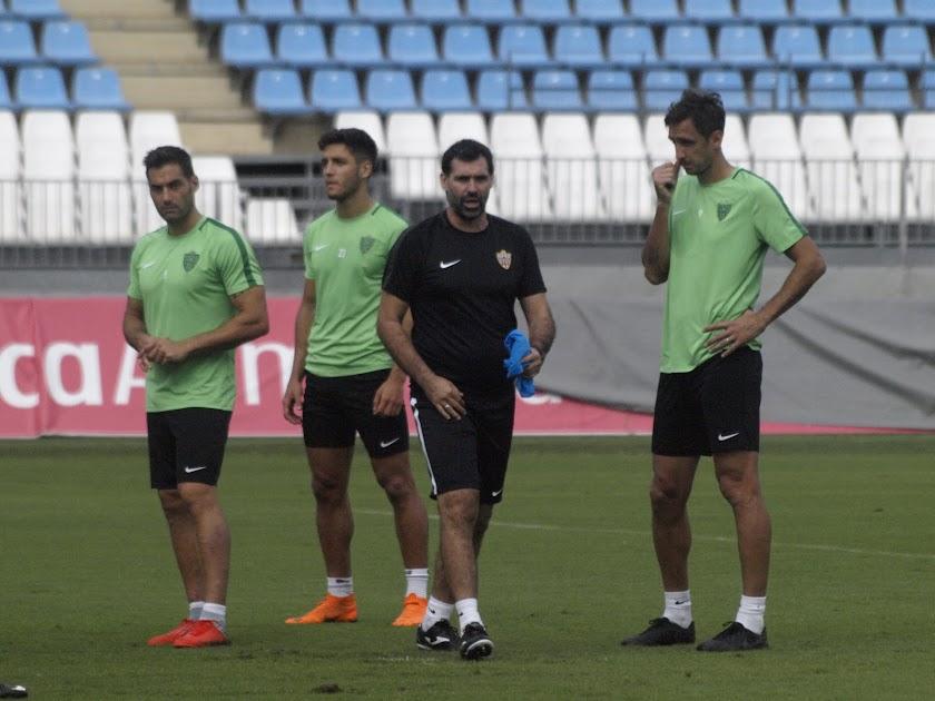 Entrenamiento UD Almería jueves 11 octubre