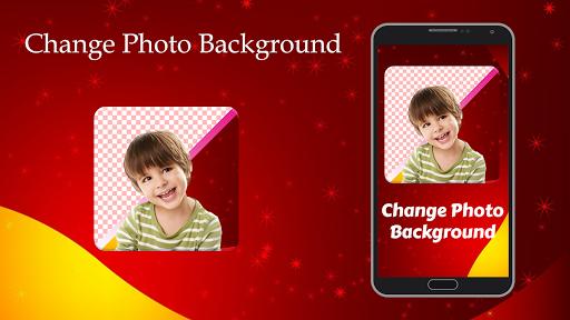 変更写真の背景