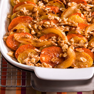 Maple Walnut Sweet Potato Casserole
