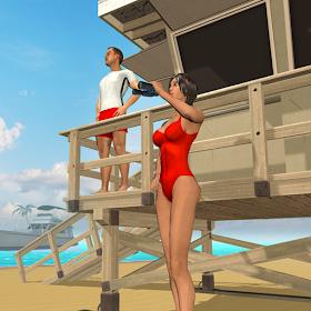 Beach Lifeguard Rescue