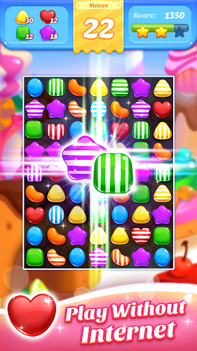 Sweet Mania Crush - Free 3 Match 100 screenshots 2