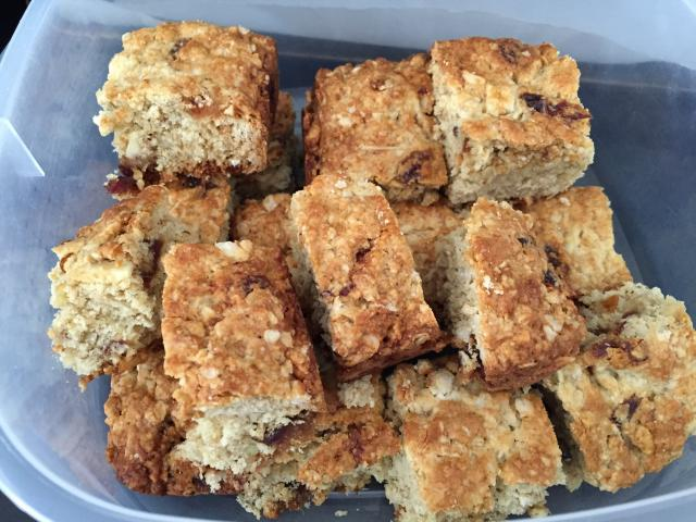 Date and Oat Slice Recipe