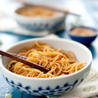 Quick Sesame Soy Noodles Recipe