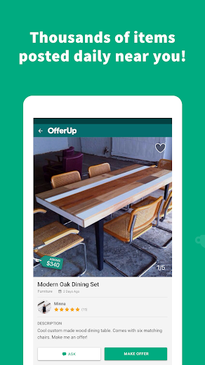Screenshot 14 for OfferUp's Android app'