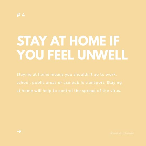 If You Feel Unwell - Instagram Post Template