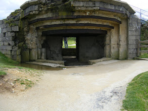 Photo: Remains of a German bunker.