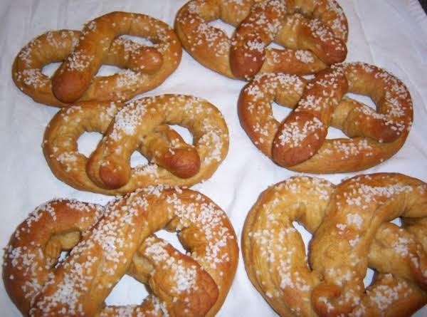 Very Soft Pretzels Recipe