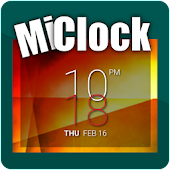 MiClock - Stacked Clock Widget