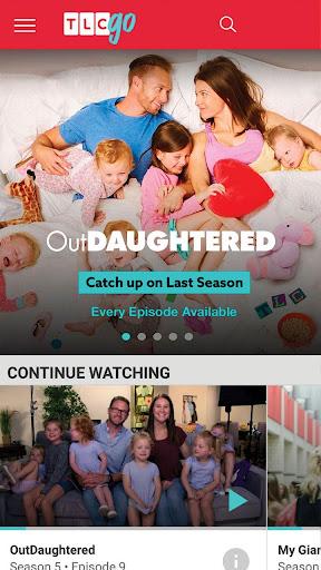 Watch TV On Demand. Stream Top Episodes: TLC GO screenshot 1