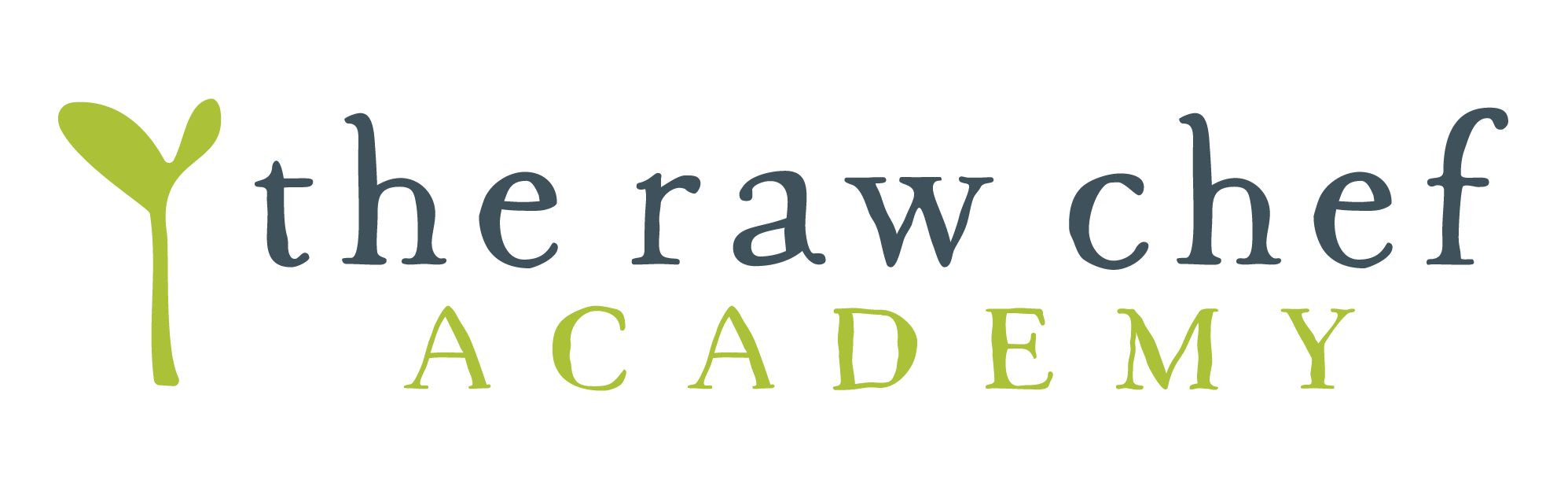 The Raw Chef Academy Logo