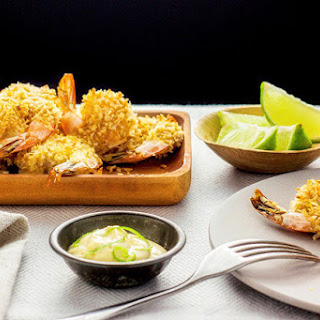 Coconut Prawns With Lime Mayonnaise
