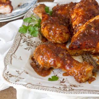 Cary Grant's Oven-Barbecued Chicken.
