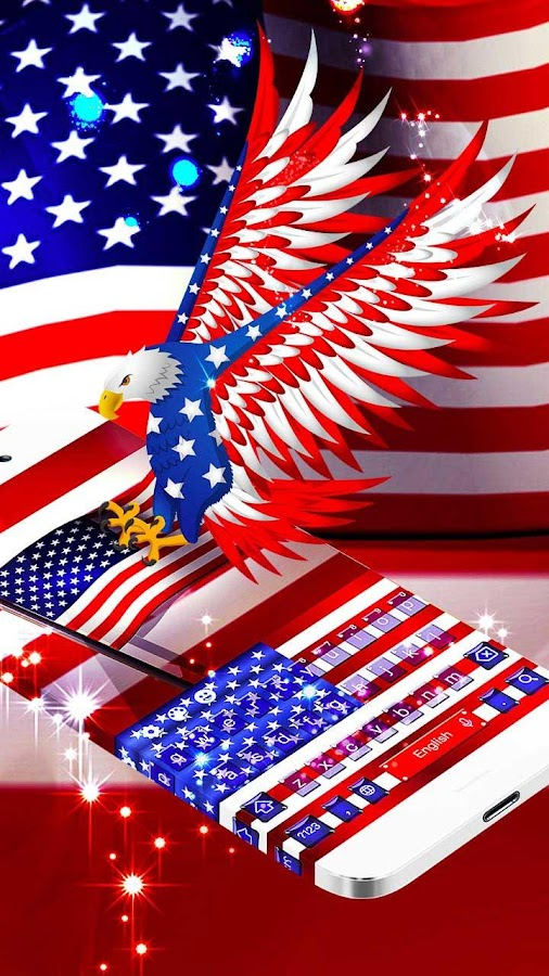 American Flag Emoji Keyboard - Android Apps on Google Play