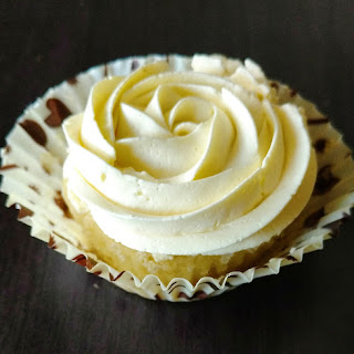 Vanilla Swiss Meringue Buttercream.