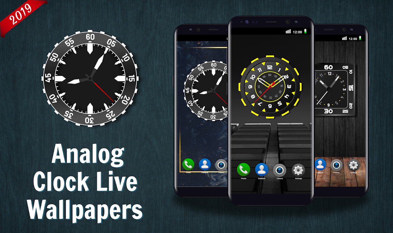 Analog Clock Live Wallpaper 2020 4k Backgrounds Hd Android Apps