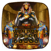 Pharaoh Treasury Keyboard Theme