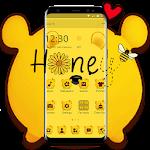 Cuteness Yellow Pooh Bear Theme Icon