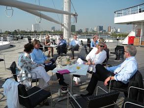 Photo: De bedrijven bespreken de teams: Perfect Assistants samen met Total Office Solutions en Meetings.nl
