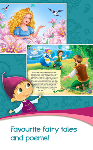Azbooks - kid's fairy tales, songs, poems & games screenshot 7