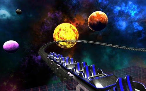 Space Roller Coaster VR (CardBoard) Screenshot