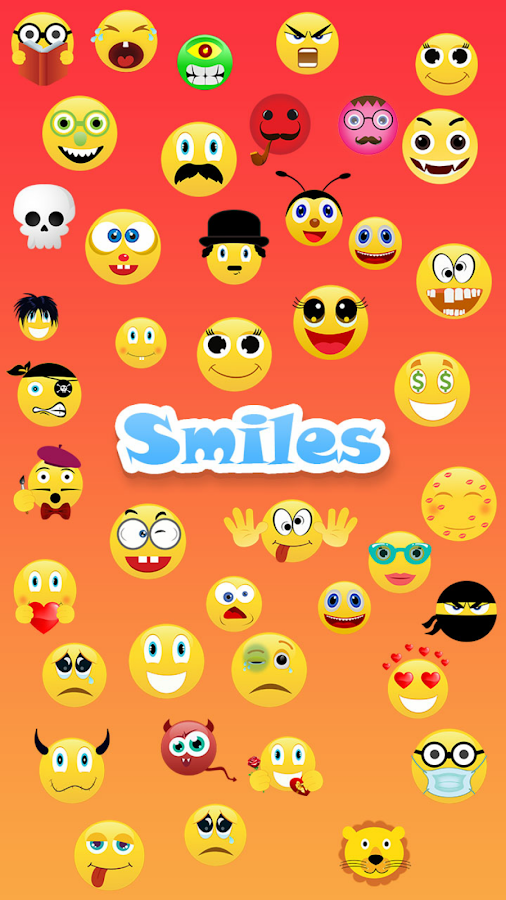 Smileys for Whatsapp share