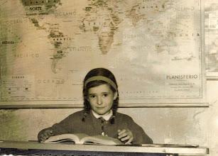 Photo: Reyes en la escuela, el mapa se hizo bastante famoso, ya que sale en todas las fotos.
