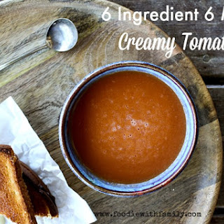 Simple 6 Ingredient 6 Minute Tomato Soup.