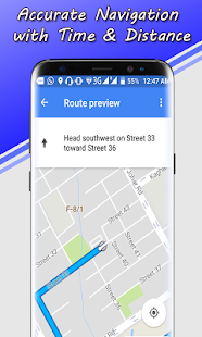Live GPS Voice Map Navigator, Driving Route Finder - náhled