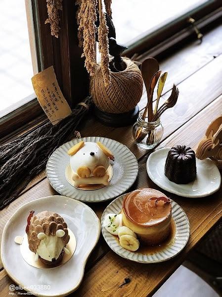 尋路。甜稻荷穀倉 台南下午茶鄉村風裝潢配上甜點造型可愛療癒,趕快來下午茶約會吧~台南甜點