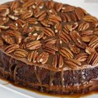 Slow-Cooker Turtle Upside-Down Cake