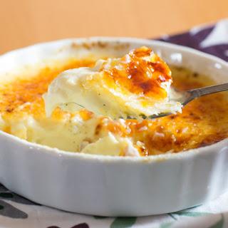 Vanilla Bean Creme Brûlée.