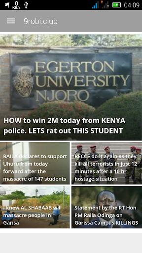 Kenyan Breaking News