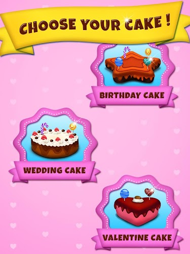 Cake Maker Kids Cooking Game Android App Screenshot