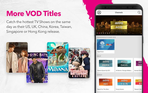 Astro GO - Watch TV Shows, Movies & Sports LIVE 8.2.6 screenshots 8