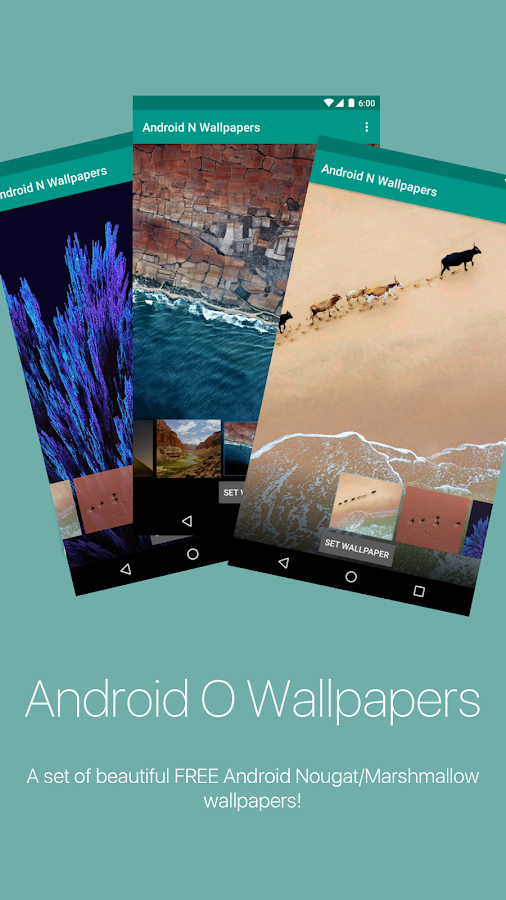 Android O Wallpapers- screenshot